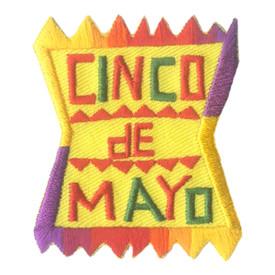 S-2865 Cinco De Mayo Patch