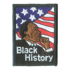 S-2866 Black History Patch