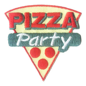 S-2869 Pizza Party Patch