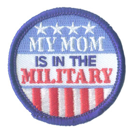 S-2870 My Mom - Military Patch