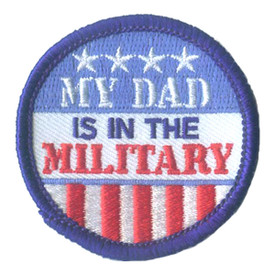S-2874 My Dad - Military Patch