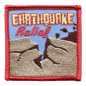 S-2892 Earthquake Relief Patch