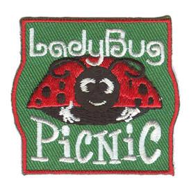 S-2898 Lady Bug Picnic Patch