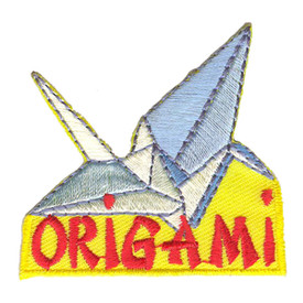 S-2901 Origami Patch