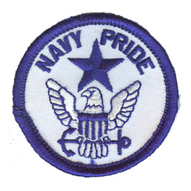 S-2909 Navy Pride Patch