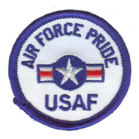 S-2911 Air Force Pride Patch