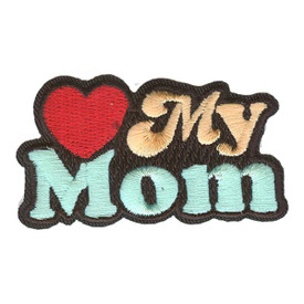 S-2917 Love My Mom Patch