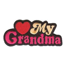 S-2919 Love My Grandma Patch
