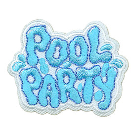 S-2939 Pool Party Patch