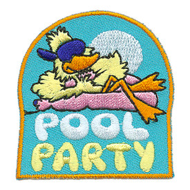 S-2948 Pool Party Patch