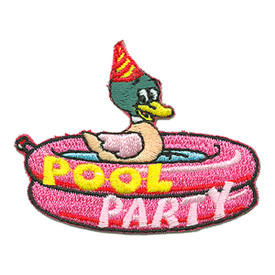 S-2953 Pool Party Patch