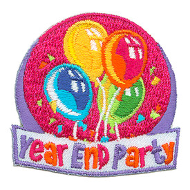 S-2957 Year End Party Patch