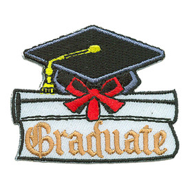 S-2959 Graduate (Hat) Patch