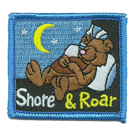 S-2961 Snore & Roar Patch
