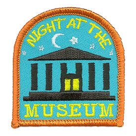 S-2971 Night At The Museum Patch