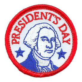 S-2974 Presidents' Day Patch