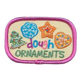 S-2978 Dough Ornaments Patch