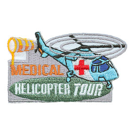 S-2981 Medical Helicopter Tour Patch