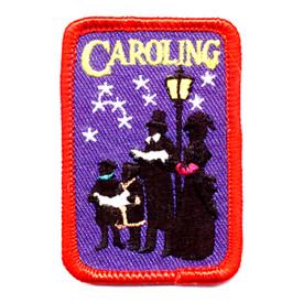 S-0164 Caroling (Carolers) Patch
