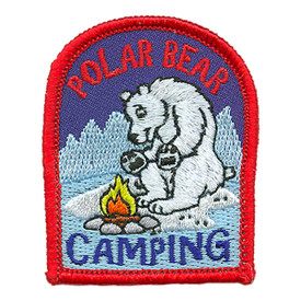 S-2984 Polar Bear Camping Patch