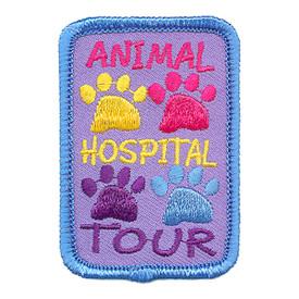 S-2989 Animal Hospital Tour Patch