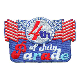 S-3014 4th Of July Parade Patch
