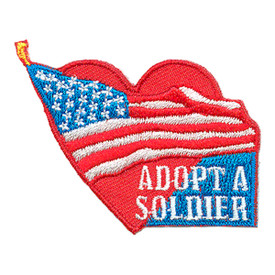 S-3019 Adopt A Soldier Patch