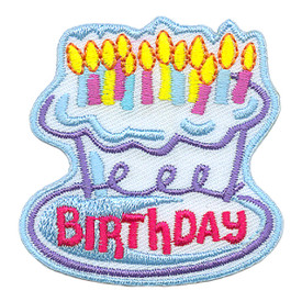 S-3026 Birthday Patch