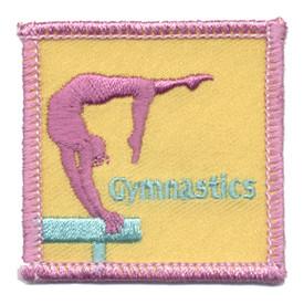 S-0194 Gymnastics Patch