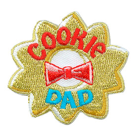 S-3044 Cookie Dad Patch