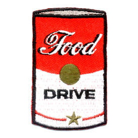S-0195 Food Drive (Soup Can) Patch