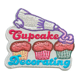 S-3055 Cupcake Decorating Patch