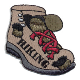 S-0197 Hiking (Worn Boot) Patch