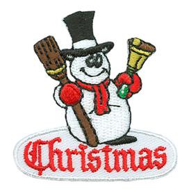S-3063 Christmas (Snowman) Patch