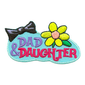 S-3066 Dad & Daughter Patch