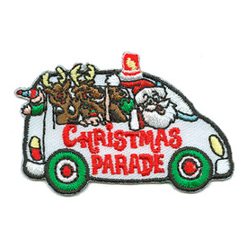 S-3070 Christmas Parade (Van) Patch