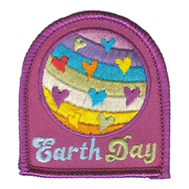 S-3071 Earth Day Patch