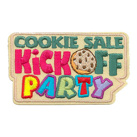 S-3078 Cookie Sale Kick Off Patch
