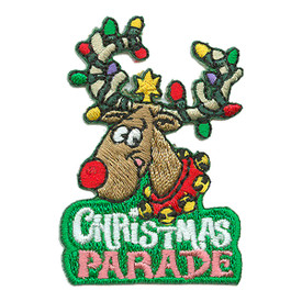 S-3082 Christmas Parade Patch