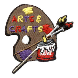 S-0202 Arts & Crafts (Palette) Patch