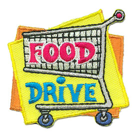 S-3089 Food Drive Patch