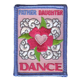 S-3093 Father Daughter Dance Patch