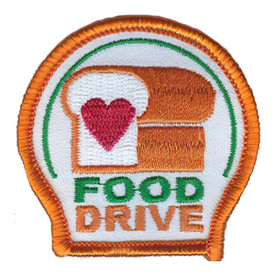 S-3096 Food Drive Patch