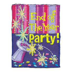 S-3100 End Of The Year Party Patch