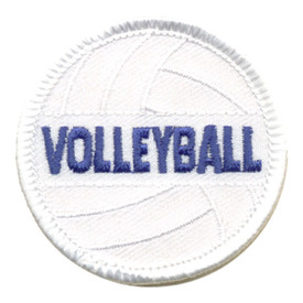 S-0203 Volleyball Patch