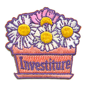 S-3106 Investiture Patch
