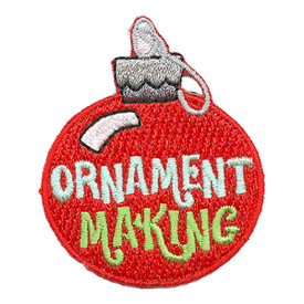 S-3107 Ornament Making Patch