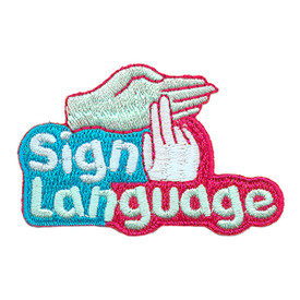 S-3116 Sign Language Patch