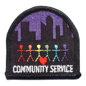 S-0204 Community Service Patch