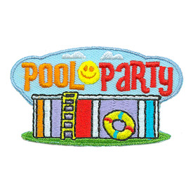 S-3120 Pool Party Patch